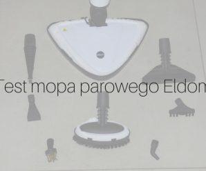 Test mopa parowego Eldom