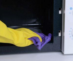 czyszczenie mikrofalówki